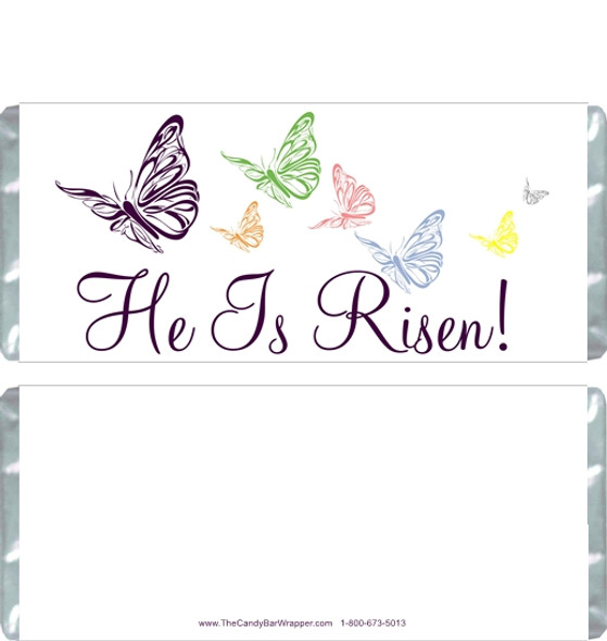 He is Risen Candy Wrappers