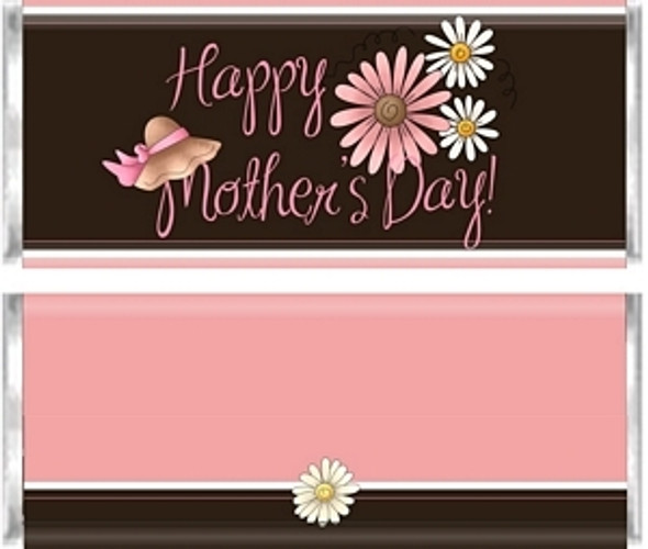 Happy Mother's Day Candy Bar Wrappers