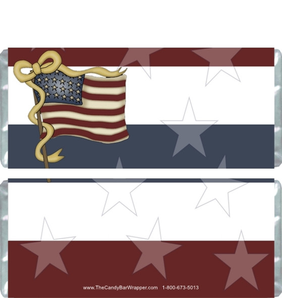 Fourth of July Candy Wrappers