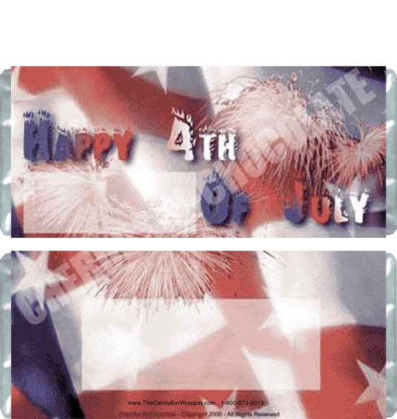 July 4th Candy Wrapper