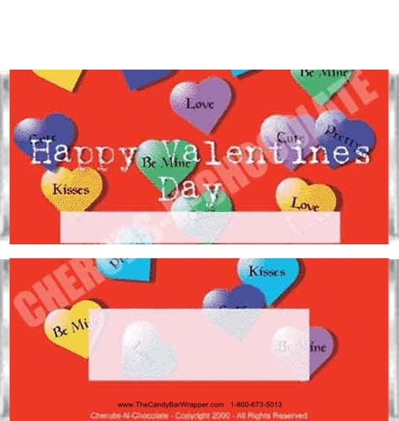 Valentine Candy Wrapper