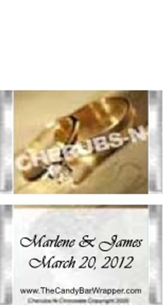 Mini Wedding Candy Bars Sample