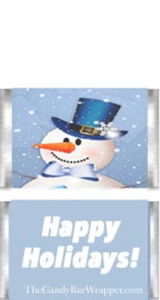 Mini Snowmen Candy Wrapper