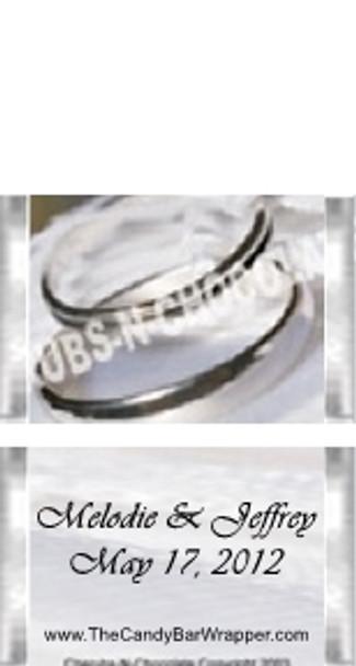 Mini Silver Candy Bars Sample