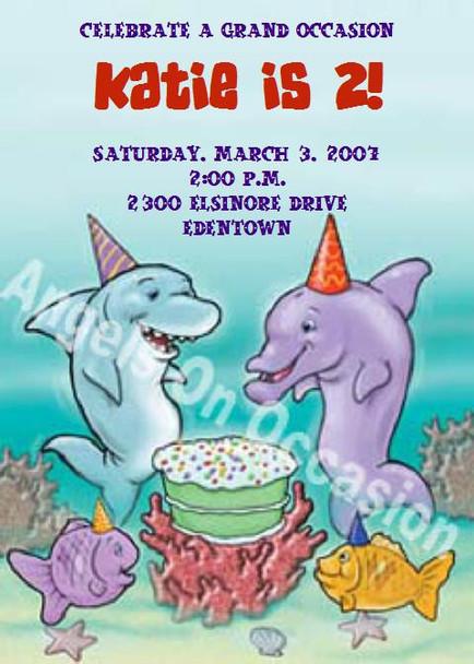 Child Birthday Party Invitation Sample