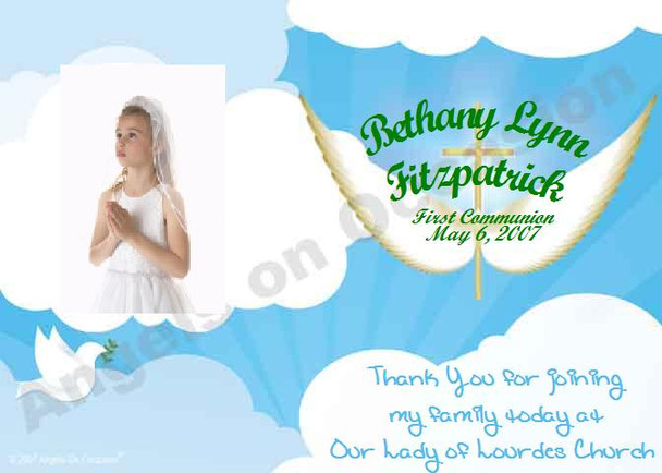 Baptismal Invitations Sample