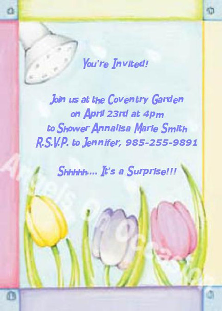Invitations for Bridal Showers Sample