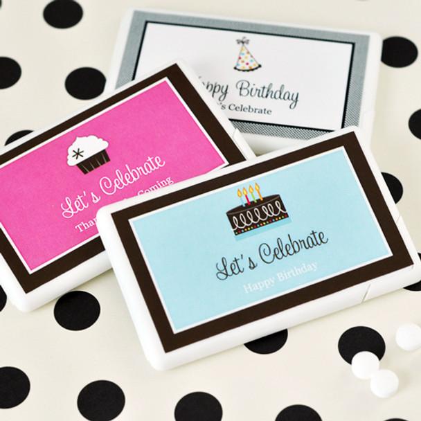 Personalized Birthday Mini Mint Favors