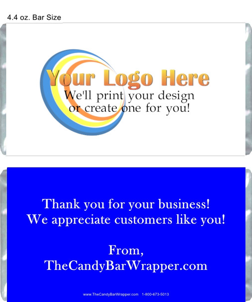 Custom 4.4 oz Candy Wrappers