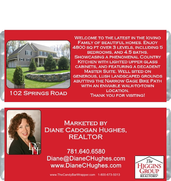 Realtor Candy Wrappers