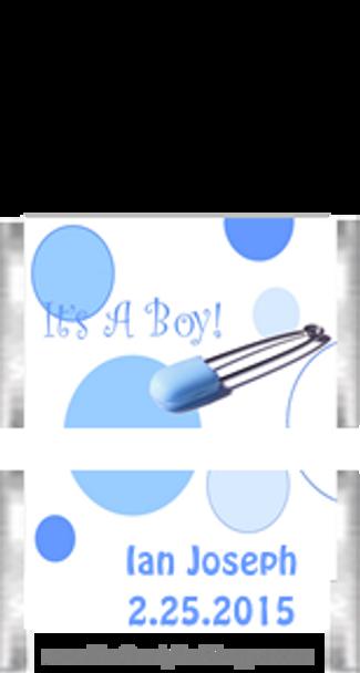 It's A Boy Mini Candy Bars