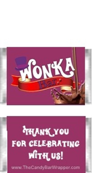 Willy Wonka Mini Candy Bars