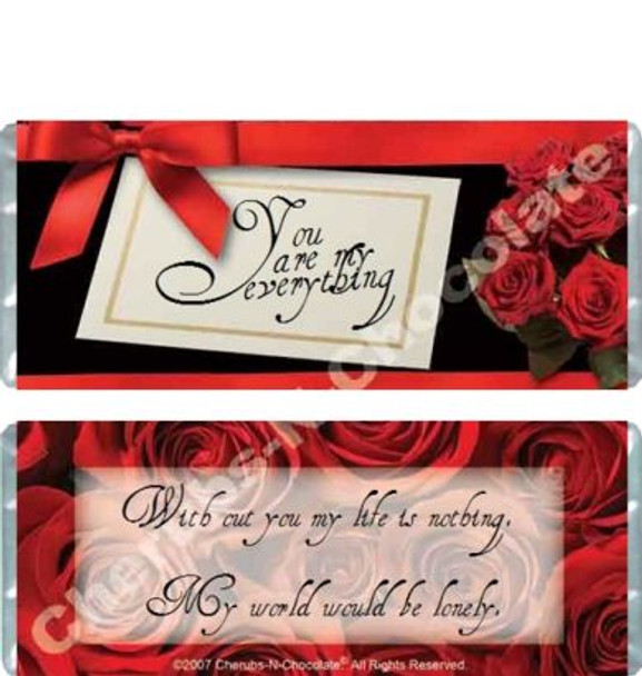 Rose Elegance Candy Wrappers