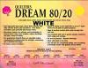 Dream 80/20 White