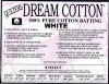 Dream Cotton White