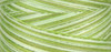 Signature Cotton Variegated - M85 Grassy Greens - 3000 yd