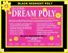 Dream Poly - Black