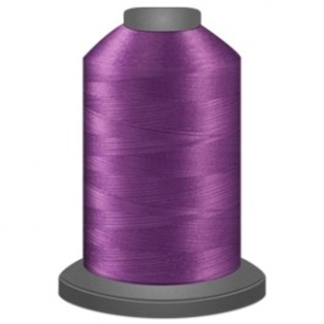 Glide Luminary thread Pink glow in the dark thread