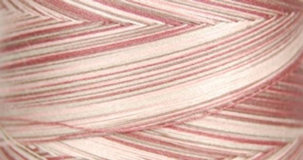 Signature Cotton Variegated - M80 Dusty Mauve - 3000 yd