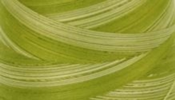 Signature Cotton Variegated - M84 Limey Green - 3000 yd