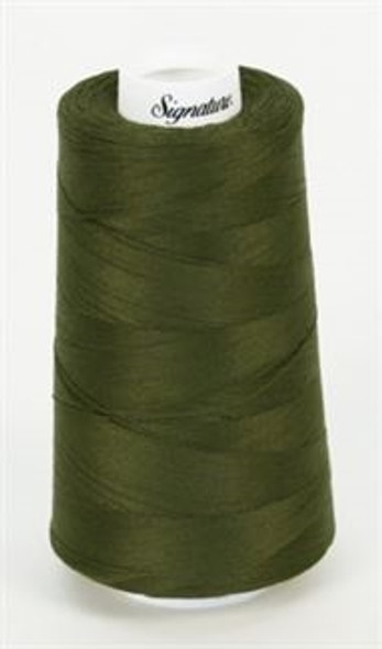 Signature Cotton - 488 Dark Olive - 3000 yd