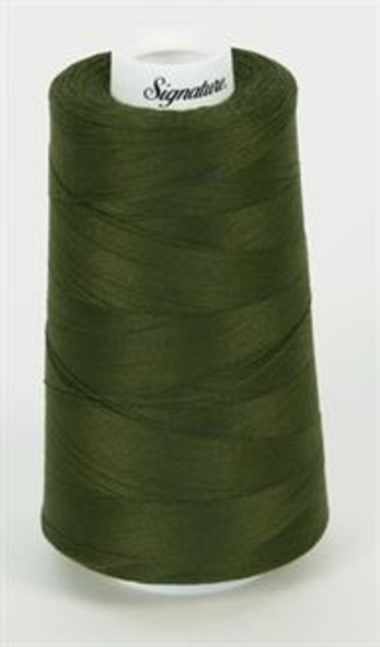 Signature Cotton - 525 Holly Green - 3000 yd
