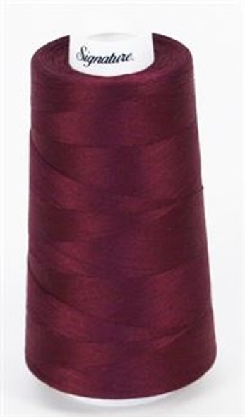 Signature Cotton - 555 Berry Wine - 3000 yd