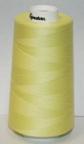 Signature Cotton - F103 Sunny Lime - 3000 yd