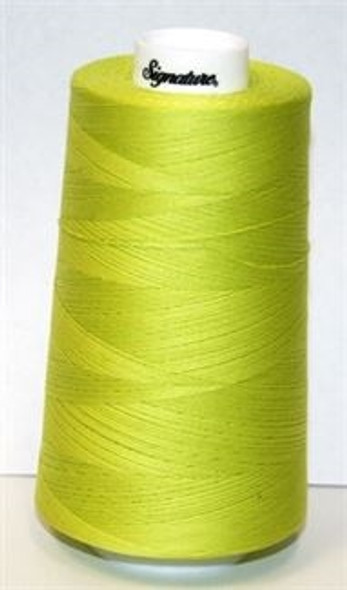 Signature Cotton - F104 Lime Splash - 3000 yd
