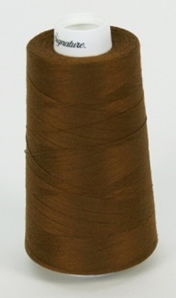 Signature Cotton/Poly - 114 Chestnut - 3000 yd