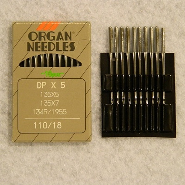 ORGAN Chrome Needles - Size 18