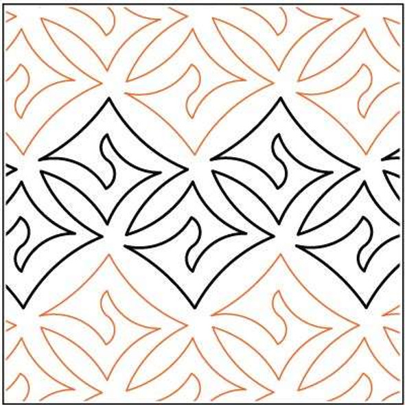 "Dazzle-10"" by Lorien Quilting"