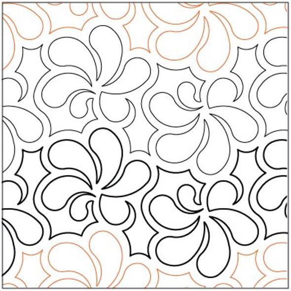 """Swirl N Twirl-7.5"""" by Lorien Quilting"""