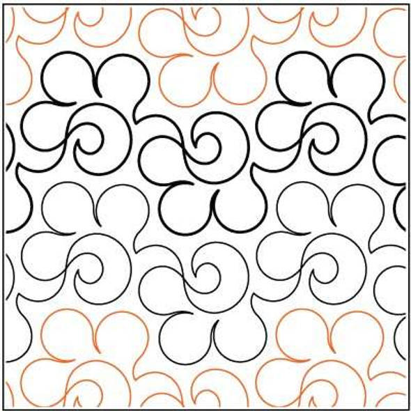 "Whimsy-5.75"" by Lorien Quilting"