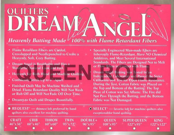 "Dream Angel - Queen Roll (Select Wt.) - 93"" x 30yds"