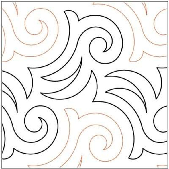 """Check and Chase-10"""" by Lorien Quilting"""
