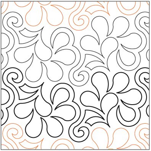 "Frisky Feathers LG-7.5"" by Lorien Quilting"