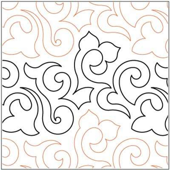 "Lorien's Paisley-9"" by Lorien Quilting"