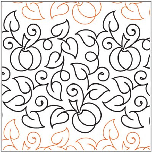 "Meandering Pumpkin Patch-12.75"" by Urban Elementz"