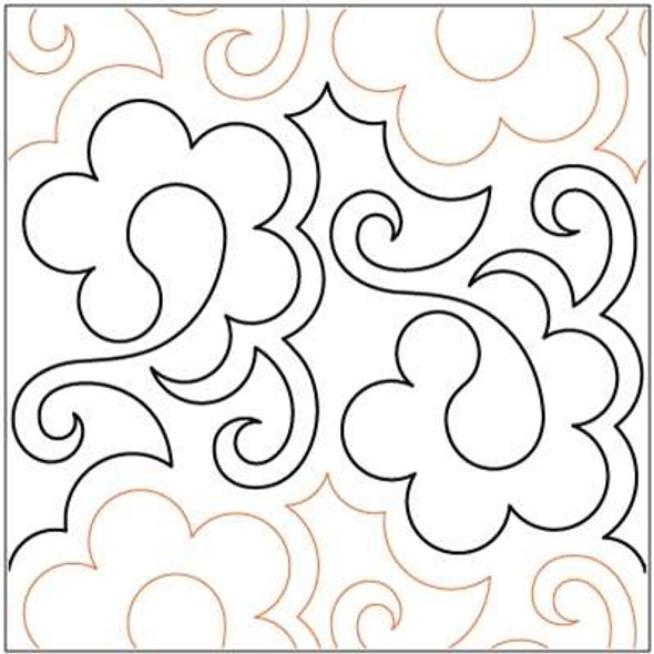"Paisley Playtime-9"" by Lorien Quilting"