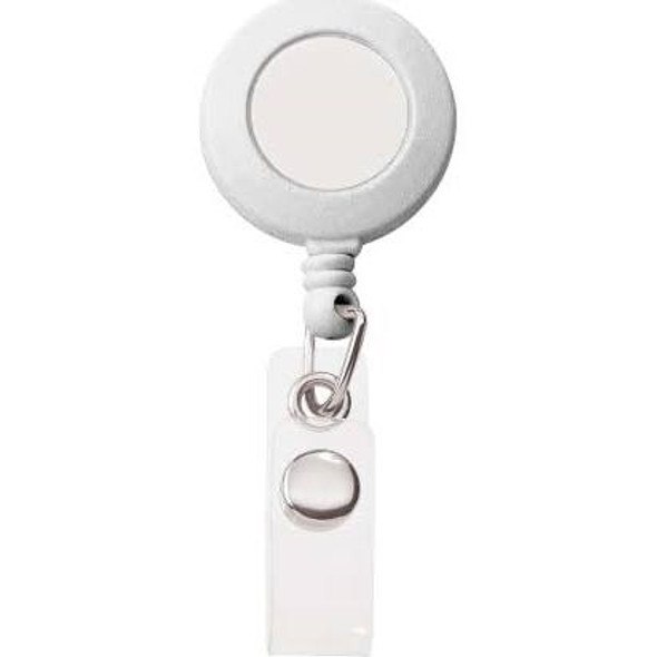 Retractable Scissors Holder - White