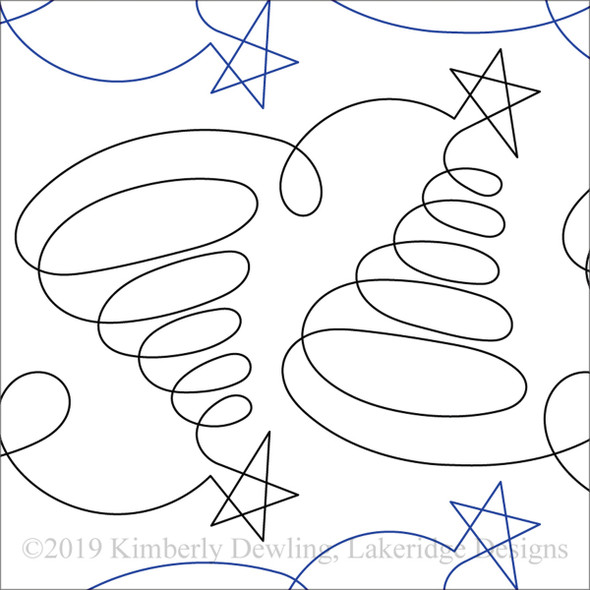 "Tree Doodles-10"" by Lakeridge Designs"