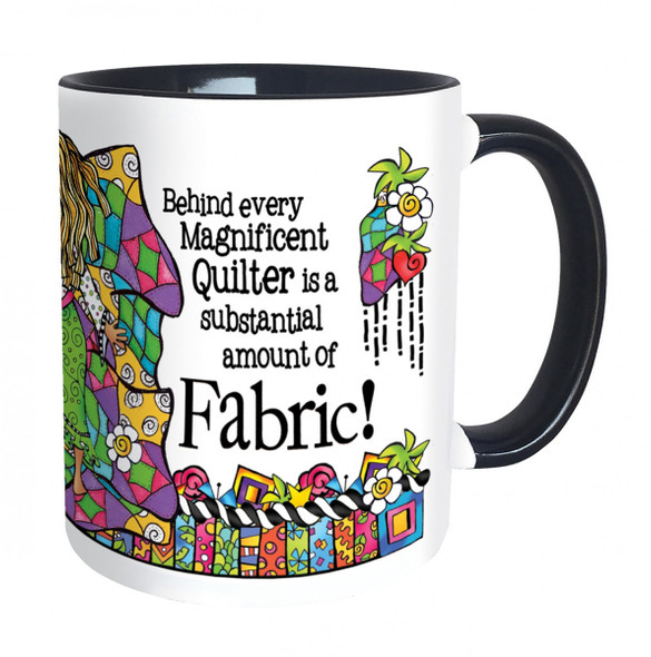 Magnificent Quilter Mug
