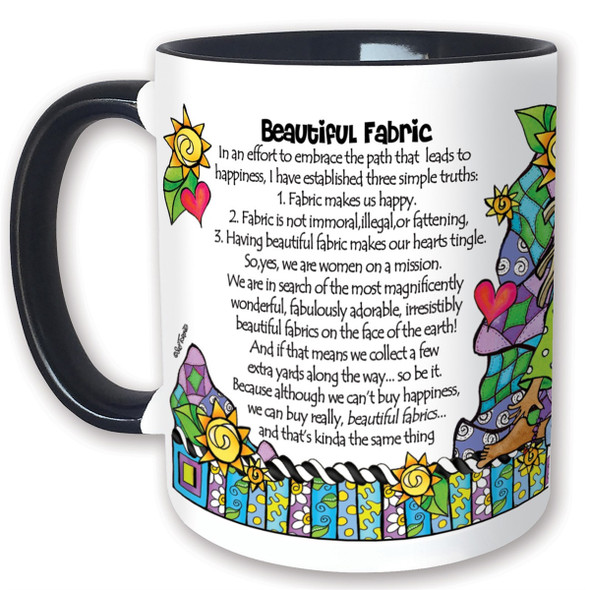 Beautiful Fabric Mug