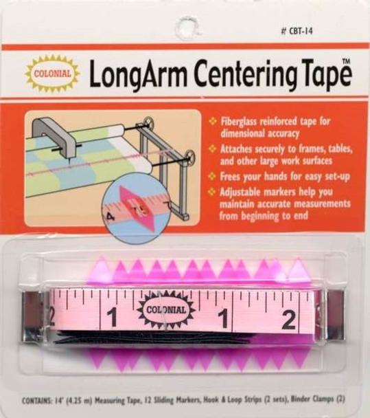 Longarm Centering Tape Measuring Tape