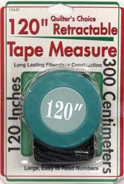 "120"" Retractable Tape Measure"