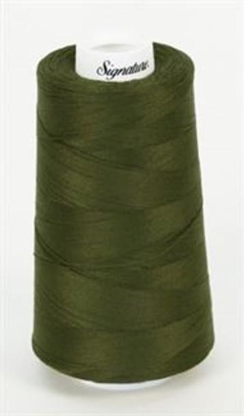 Signature Cotton - 488 Dark Olive - 3000 yd