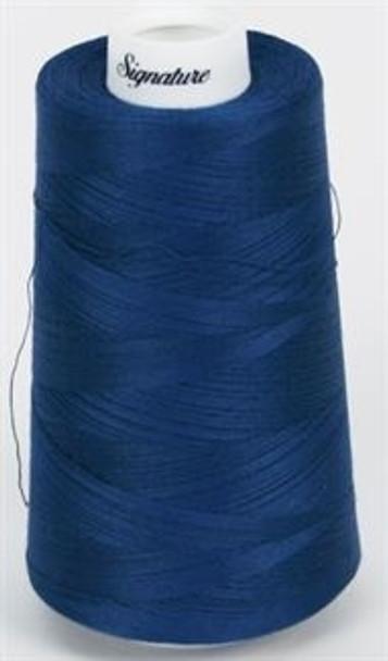 Signature Cotton - 616 Sapphire - 3000 yd