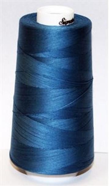 Signature Cotton - F205 Stone Blue - 3000 yd