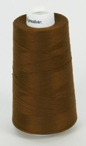 Signature Cotton/Poly - 114 Chestnut - 3000 yd